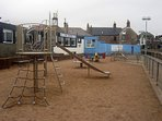 Eyemouth beach front children's play park