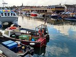 Eyemouth working harbour