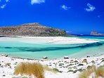 Ballos-Gramvoussa beach