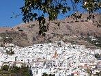 Het mooie witte bergdorp Cómpeta