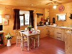 Cosy kitchen area