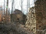 Hikes often come upon old ruins in the area..