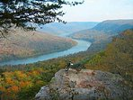 Nice view from Snoopers Rock Overlook
