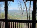 Back Porch View of the Sequatchie Valley..the longest valley in the world!