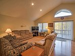 Relax in the living room with your loved ones for some entertaining TV or sharing memories!