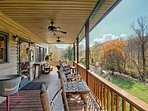 'Upper Back Deck' with an epic view...