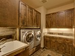 When even the laundry room looks this good, you know you're in the right place.