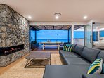 Spectacular views of the ocean from the living areas, Master bedroom and front decks