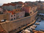 Dubrovnik Old Harbor at your doorsteps!