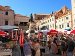 Grab fresh food from the Green market, a stone away from My Sunshine