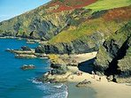 Nearest blueflag beach minutes away at Llangrannog,