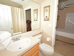 Jack n Jill bathroom between bedrooms 3 & 4