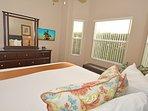 Master bedroom 1 (downstairs) showing flatscreen TV