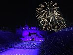 Edinburgh Tattoo-- 57 minutes away by Train