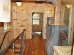 Upper Hallway w/ Mill Equipment