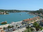 Mahon's spectacular harbour.