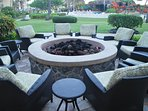 Firepit at the Shutters Lounge