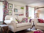 Sit back and relax on the luxurious comfy sofas