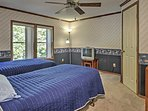 Talk into the late hours of the night with your roommate before drifting off to sleep in these comfy twin-sized beds.