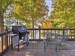 Fire up the grill for the ultimate cookout on the deck!