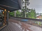 The deck will quickly become your favorite place to hang out in the beautiful outdoors!