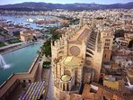 #Palma Cathedral. One of the top stops and when you go your see why. The place is amazing