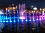 Dancing Waters Located At Beale Island In Pigeon Forge 3 mile From Cabin