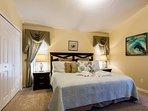 King size jr. master bedroom
