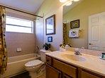 Full/Double adjacent bathroom
