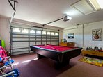 Garage converted Games Room
