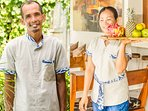 Friendly full-time staffs. Made the gardener and Iluh the housemaid. They...