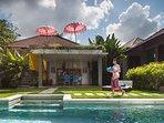 Villa pool and exterior