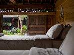 Wooden Villa Twin bed Monkey room