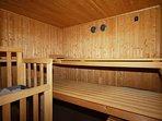 Finnische Sauna zur Eigennutzung für bis zu 8 Personen
