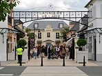 La Vallée Village largest fashion and leisure outlet near Paris. People are coming by the thousands