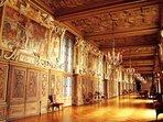 Castle of Fontainebleau, favorite of Napoleon - 60 km