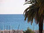 French Riviera sea view apartment with balcony in Menton, sleeps 4