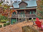 Immerse yourself in Georgia's natural splendor when you book a stay at this Ellijay vacation rental cabin!