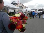 Pacific Grove Downtown Farmers Market - a delightful ten minute walk