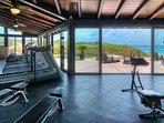 Beach club- gym area