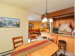 Park Place Dining and Kitchen Breckenridge Lodging Vacation Rent