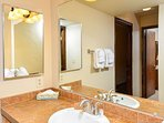 Park Place Bathroom Breckenridge Lodging Vacation Rental