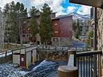 Park Place Patio Breckenridge Lodging Vacation Rental