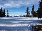 Skiing on Whistler