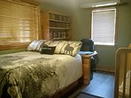 Blue Heron bedroom c/w queen size bed Ask about our extra bedroom