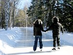Enjoy Arrowhead Famous Skating trail through the forests Free Entrance with your complimentary pass!