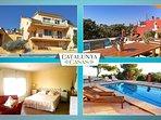 Coastal villa in Castellet, 6km from Costa Dorada beaches