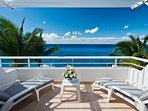 second private oceanfront balcony