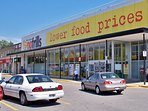 No Frills - massive budget food & necessities store; great variety & proven lowest prices in Toronto