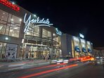 Yorkdale Mall,biggest in TO, 4th largest in Canada.Brands, cinema,cell phone services, entertainment
